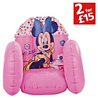 more details on Mickey Mouse Clubhouse Minnie Flocked Inflatable Chair.