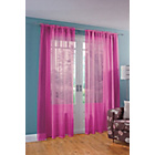 more details on ColourMatch Pair of Voile Panels - 152x228cm - Funky Fuchsia