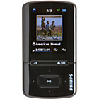 more details on Philips SA4VBE08KN/12 GoGear VIBE 8GB MP3/MP4 Player - Black
