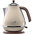 more details on De'Longhi KBOV3001BG Vintage Icona Kettle - Cream.
