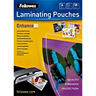 more details on Fellowes Laminating Pouches A4 80mic 25 Pack.