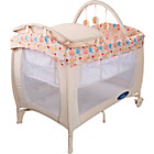 more details on BabyStart Deluxe Travel Cot - Natural.