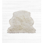 more details on HOME Faux Sheepskin Rug - Natural.