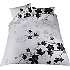 more details on Blossom Black and White Bedding Set - Kingsize.