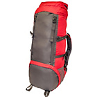 more details on Waterproof Red and Black Rucksack - 85 Litre.