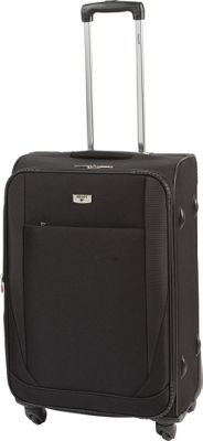 Antler Barina Medium 4 Wheel Suitcase - Black