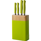 more details on ColourMatch 5 Piece Knife Block Set - Apple Green.