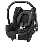 more details on Maxi-Cosi CabrioFix Group 0+ Infant Carrier - Black Raven.