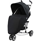 more details on BabyStart 3 Wheeler Pushchair - Black and White.