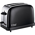 more details on Russell Hobbs Colours 14361 2 Slice Toaster - Black.