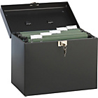 more details on A4 Paper Metal Filing Storage Box - Black.