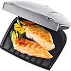 more details on George Foreman 17894 2 Portion Health Grill - Silver.
