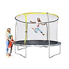 more details on Sportspower 10ft Trampoline and Enclosure - In store only