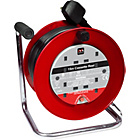 more details on Masterplug 4 Socket Cable Reel - 15m.