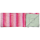 more details on Pink Stripe 300GSM Single Envelope Sleeping Bag.