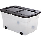 more details on 45 Litre Lidded Wheeled Plastic Storage Box.