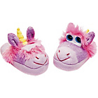 more details on Stompeez Girls' Purple Unicorn Slippers.
