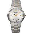 more details on Seiko Men's Two-Tone Classic White Dial Bracelet Watch.