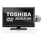 more details on Toshiba 24D1333 24 Inch HD Ready LED TV/DVD Combi.