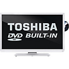 more details on Toshiba 32D1334 32 Inch HD Ready LED TV/DVD Combi - White.