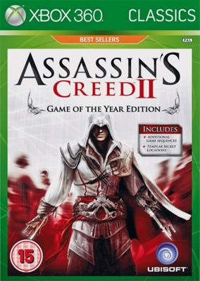 Assassin's Creed 2 Game of the Year Classics Xbox 360 Game