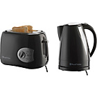 more details on Russell Hobbs 19977 Kettle and Toaster - Black.