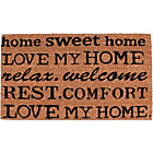 more details on Love My Home Doormat 70x40cm - Natural.