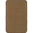 more details on Indoor and Outdoor Washable Mat Set 80x50cm-Brown & Black.