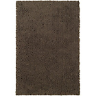 more details on ColourMatch Shaggy Rug - 170 x 110cm - Cafe Mocha.