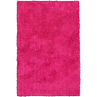 more details on ColourMatch Shaggy Rug - 170 x 110cm - Funky Fuchsia.