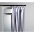 more details on Pleat Top Blackout Curtain Lining 168x178cm - White.