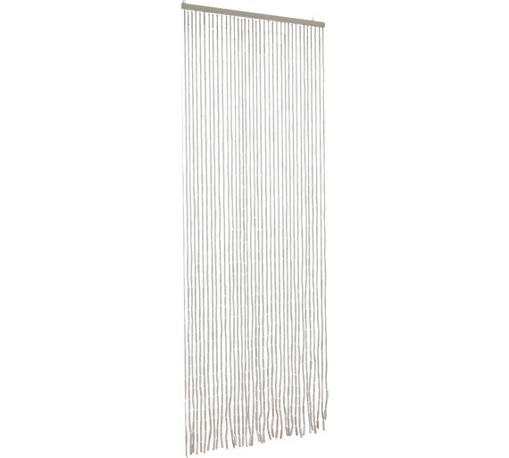 buy home beaded door curtains 91x190cm white at argos. Black Bedroom Furniture Sets. Home Design Ideas