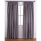 more details on ColourMatch Pencil Pleat Curtains- 117x183cm - Smoke Grey.