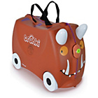 more details on Trunki Gruffalo Ride-On Suitcase - Brown.