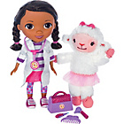 more details on Doc McStuffins Interactive Doc and Lambie.