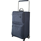more details on IT World's Lightest Medium 2 Wheel Suitcase - Charcoal.