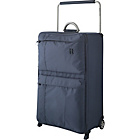 more details on IT World's Lightest Large 2 Wheel Suitcase - Charcoal.
