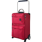 more details on IT World's Lightest Small 2 Wheel Suitcase - Red.