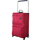 more details on IT World's Lightest Medium 2 Wheel Suitcase - Red.