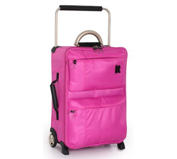 buy it world 39 s lightest small 2 wheel suitcase pink at your online shop for. Black Bedroom Furniture Sets. Home Design Ideas