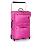 more details on IT World's Lightest Medium 2 Wheel Suitcase - Pink.