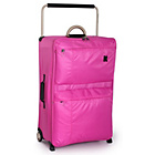 more details on IT World's Lightest Large 2 Wheel Suitcase - Pink.