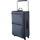 more details on IT World's Lightest Medium 4 Wheel Suitcase - Charcoal.