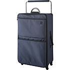 more details on IT World's Lightest Large 4 Wheel Suitcase - Charcoal.
