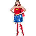 more details on Fancy Dress Wonder Woman Costume - Size 12-14.