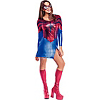 more details on Fancy Dress Miss Spider Girl Costume - Size 8-10.