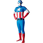 more details on Fancy Dress Captain America 2nd Skin Costume.