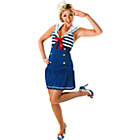 more details on Fancy Dress Sailor Girl Costume - Size 12-14.