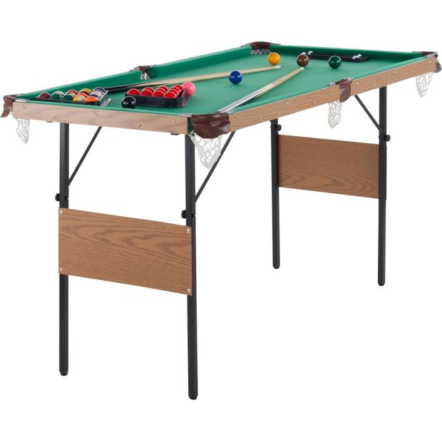 Buy snooker and pool table 4ft 6in at your online shop for sn - Taille table snooker ...
