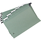 more details on 20 Foolscap Suspension Files - Green.